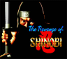 Revenge of Shinobi, The (Mega Drive)