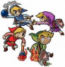 The Legend of Zelda: A Link to the Past - Four Swords (Gameboy Advance)