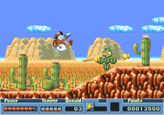 [Análise Retro Game] - QuackShot estrelando Pato Donald - Mega Drive 000972