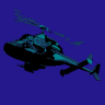 Completed Airwolf (NES)