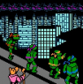 Teenage Mutant Ninja Turtles II: The Arcade Game (NES)