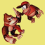 Completed Donkey Kong Country - Competition Edition (SNES)