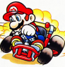 ~Hack~ Super Mario Kart Reversed (SNES)