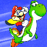 Completed Super Mario World (SNES)