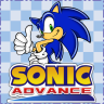 Completed Sonic Advance (Game Boy Advance)