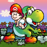 Completed Super Mario World 2: Yoshi's Island (SNES)
