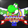 ~Hack~ Yoshi in Sonic The Hedgehog 2 (Mega Drive)