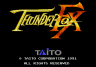 Completed Thunder Fox (Mega Drive)
