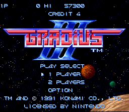 Gradius III (SNES) - RetroAchievements