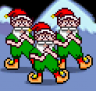 Elf Bowling 1 & 2 (Game Boy Advance)