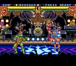 Teenage Mutant Ninja Turtles: Tournament Fighters (SNES