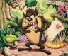 Completed Taz-Mania (Master System)