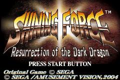 Shining Force: Resurrection of the Dark Dragon (Game Boy