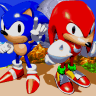 Completed Sonic and Knuckles (Mega Drive)
