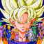 Completed Dragon Ball Z: Buyuu Retsuden (Mega Drive)