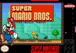 Hack~ Super Mario Bros: The Early Years (SNES