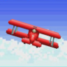 Completed Pilotwings (SNES)