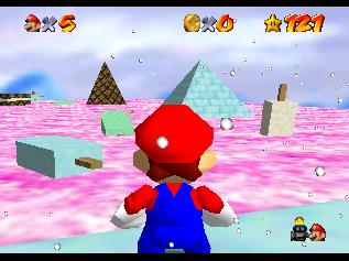 Hack~ Super Mario 64: Stars of the Beast (Nintendo 64