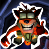 Completed Crash Bandicoot 2: Cortex Strikes Back (PlayStation)