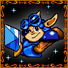 Completed Rocket Knight Adventures (Mega Drive)