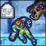 ~Hack~ Samus Goes to the Fridge to Get a Glass of Milk